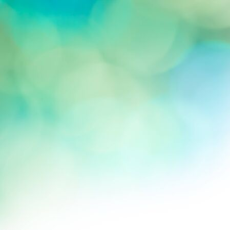 tranquil: Beautiful abstract background in blue and green color