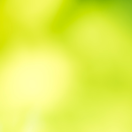 traquil scene: beautiful green and yellow blur abstract background