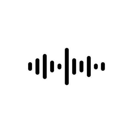 Sound waves oscillating glow light in black tone on white background, Technology digital splash or explosion concept, Neon sound waves in music production.