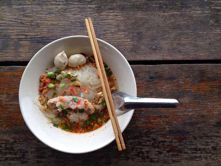 style: Thai style noodles