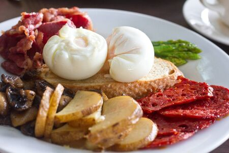sumptuous: Breakfast Spanish and sumptuous
