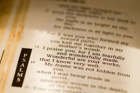 Psalms as in the bible