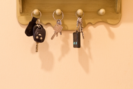 Key box holder in the house