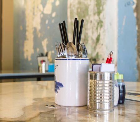 kopitiam: Oriental cutlery in a traditional kopitiam