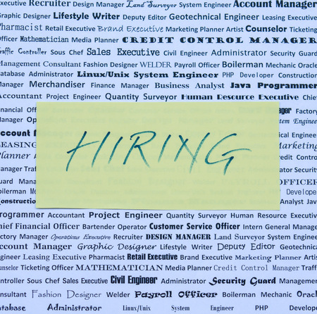 Jobs, Vacancies and Openings - employers are hiring photo