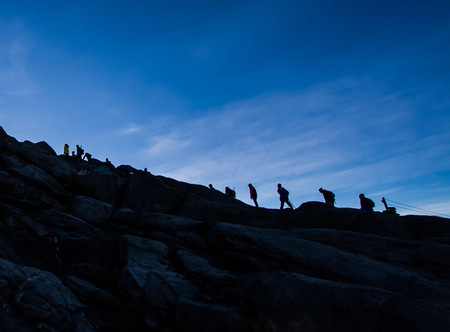 Hiking Mt Kinabalu in Malaysia