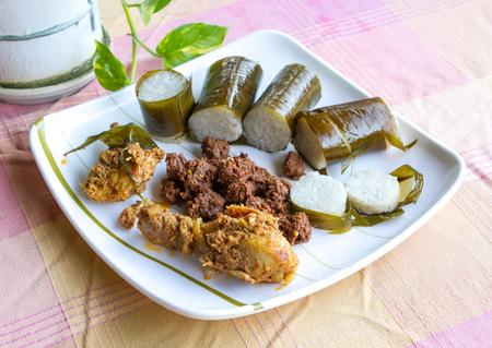 local festivals: Lemang, rendang, curry chicken for Hari Raya