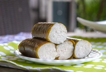 Lemang, a delicacy during Hari Raya