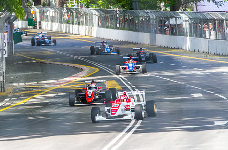 KL City Grand Prix 2015 - Kuala Lumpur. Held from 7th Aug to 9th Aug. It's also the first KL Street race ever held.