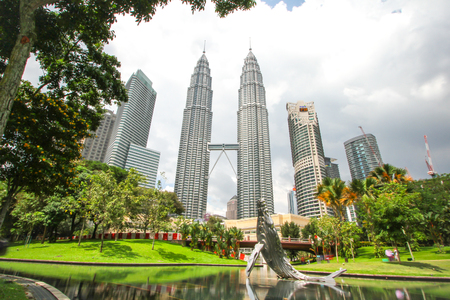 petronas: Dec 12, 2015 -Petronas Twin Towers in Kuala Lumpur. Petronas Twin Towers were the tallest buildings (452 m) in the world from 1998 to 2004.