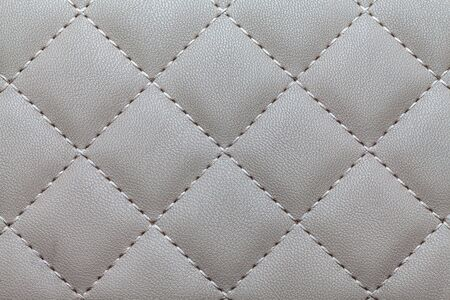 Texture of a beautiful, club sofa in gray for background Stock fotó - 143048817