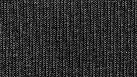 elegant black cotton fabric texture background