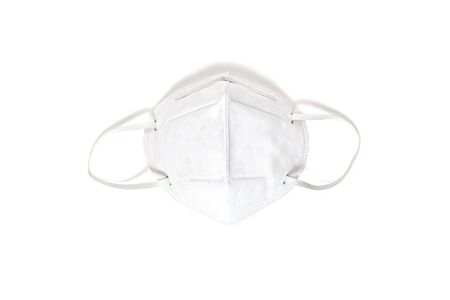 protective mask against coronavirus  on a white background .COVID-2019 Stock fotó - 144702591