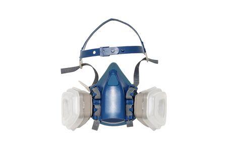 multi-purpose respirator half mask for virus protection on white background. Stock fotó