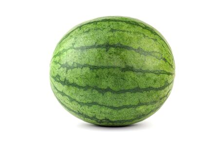 watermelon fruit on a white background, isolated