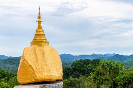 THE GOLDEN ROCK IN THAILAND
