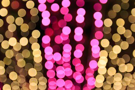 defocused glitter vintage lights background