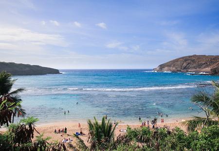 screen savers: Hanauma Bay, beautiful paradise in Oahu, Hawaii