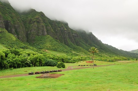 A magnificent view of Kualoa Ranch, Hawaii
