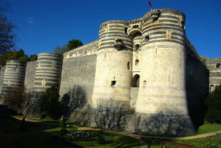 anjou: El castillo de los duques de Anjou