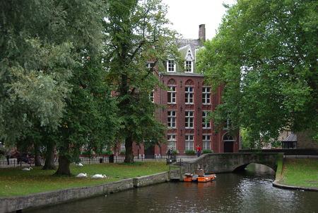 bruges: Venice of the North Bruges, Belgium Editorial