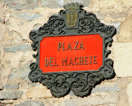 the basque country: street sign in the Basque Country in Spain