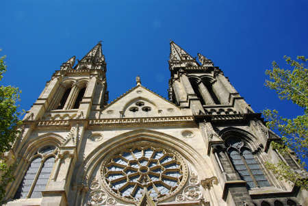 aquitaine: Church of St. Louis Chartrons at Bordeaux in Aquitaine