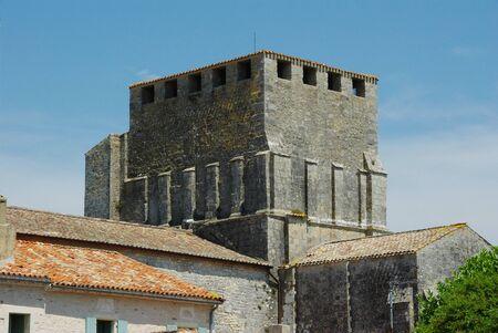 fortified: Church fortified ? ? e Mornac Charente Maritime