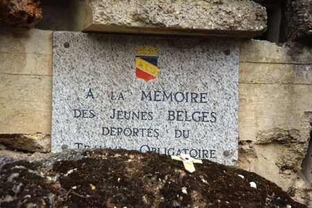deportes: Remember marble dead Belgian youth blockhouse Eperlecques during a bombing Editorial