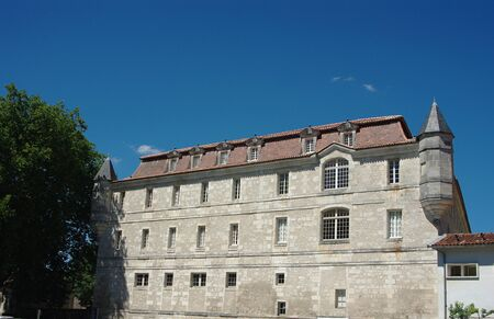 Abbey of the Ladies Saintes Charente-Maritime Stock Photo