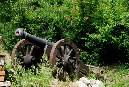 Bronze cannon of the nineteenth century in Poland Reklamní fotografie