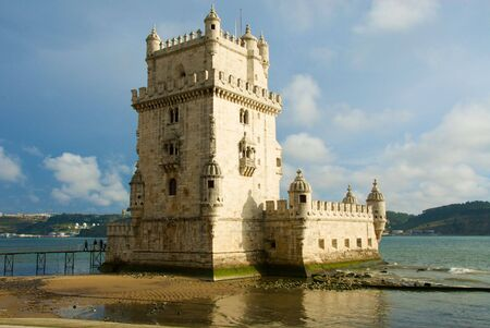 recognized: Tower of Belem in Lisbon, recognized by UNESCO as world heritage