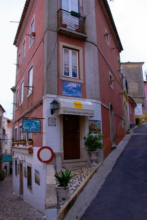byron: The streets of Lisbon, a favorite restaurant of Lord Byron