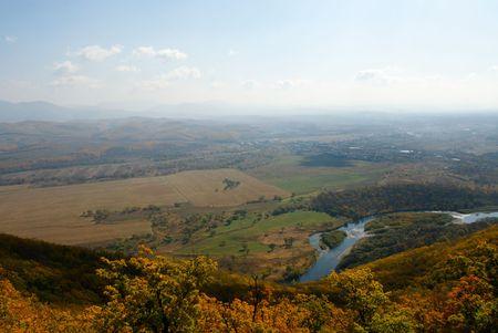 ussuri: Kind on a valley of the river Ussuri and village Novomihajlovku