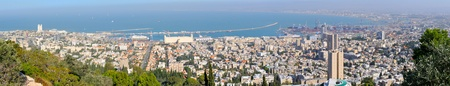 Panorama of the city of Haifa. Israel Stock Photo - 9974674
