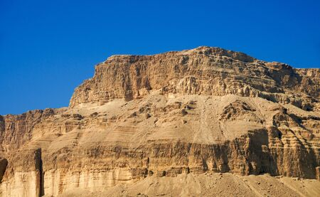 judean hills: Spurs Judean Hills on the shores of the Dead Sea.