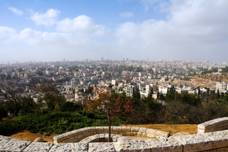 jewish houses: Jerusalem the capital of Israel. The view from the hills.