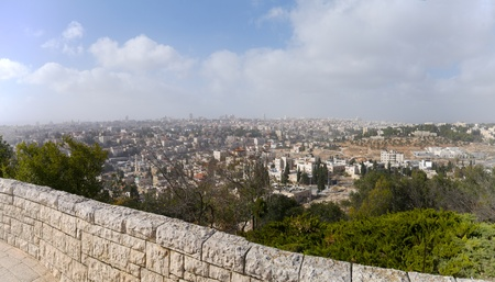 Jerusalem the capital of Israel. The view from the hills. Stock Photo - 15438934
