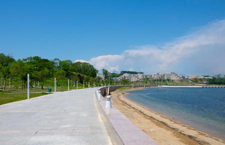 ajax: Campus FEFU about  Russian  The beach area in Ajax Bay