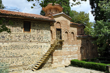 Boyana Church (Boyanska Tsarkva) - medieval Bulgarian Orthodox church situated on the outskirts of Sofia, the capital of Bulgaria, in the Boyana quarter. Stock Photo