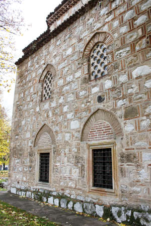 serbia: Old ruined mosque in Nis, Serbia