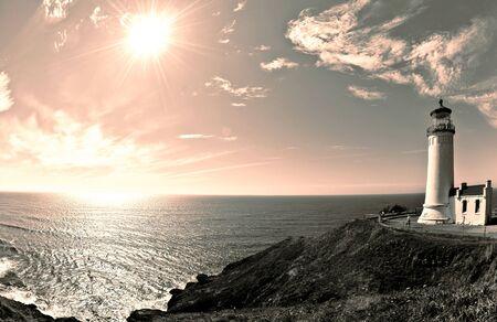 desilusion: El Faro de Cabo Decepci�n, Washington,