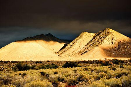 sierras: Mountain range in the Eastern Sierras Stock Photo