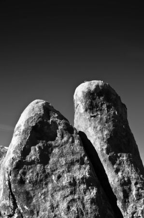 Towering example of the types of rocks found in the Alabama Hills area of California. Stock Photo - 11505840
