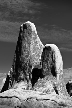 Towering example of the types of rocks found in the Alabama Hills area of California. Stock Photo - 11505841