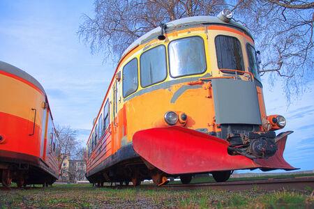 Permanent: Trein  Trolley permanent geparkeerd en in onbruik.