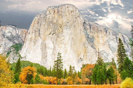 el capitan: The Yosemite Valley monolith known as El Capitan. El Capitan is a vertical rock formation in Yosemite National Park, located on the north side of Yosemite Valley, near its western end.