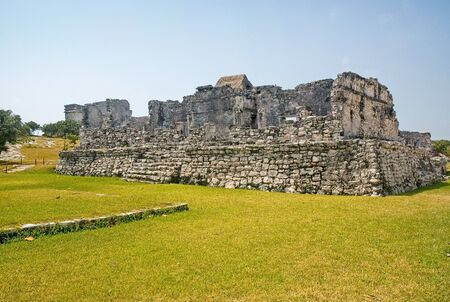 Mayan ruins located in the Yucatan peninsula of Mexico.
