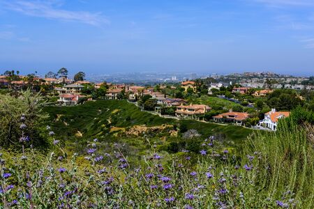 foothills: The foothills of the Laguna Hills area of Southern California.