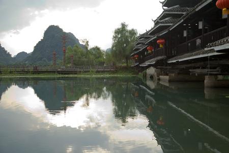 xanadu: Yangshuo, Guangxi Xanadu Stock Photo